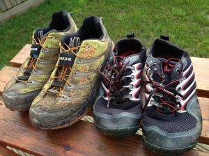 Hoka's and Trail Gloves